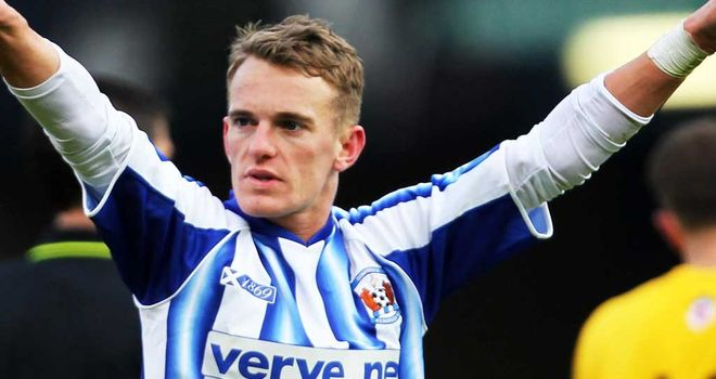 Shiels: Scored winner for Killie