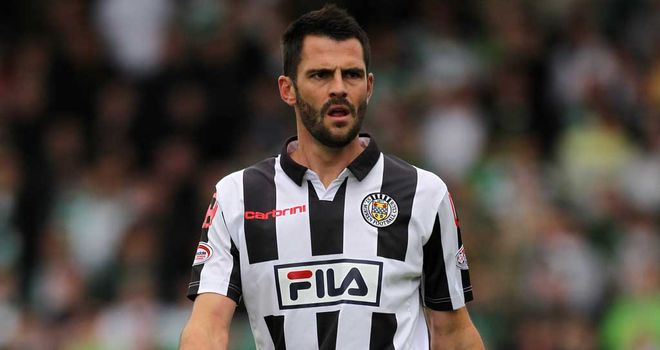 Thompson: On the scoresheet for St Mirren