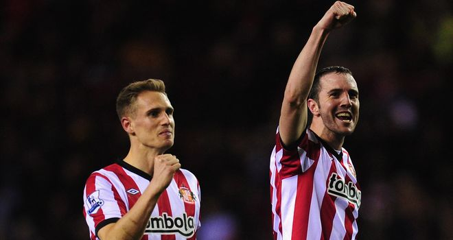 Matt Kilgallon: The Sunderland man is facing stiff competition for his place against Aston Villa from John O&#39;Shea