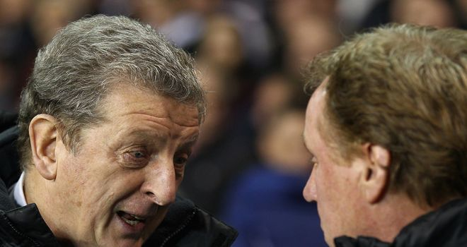 Hodgson: has been approached by the FA, but Kammy wonders what's happened with Redknapp