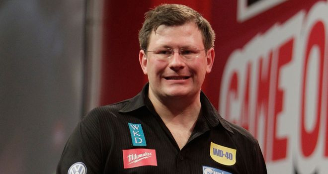 James Wade: Early exit in Dublin after first round defeat to Colin Osborne