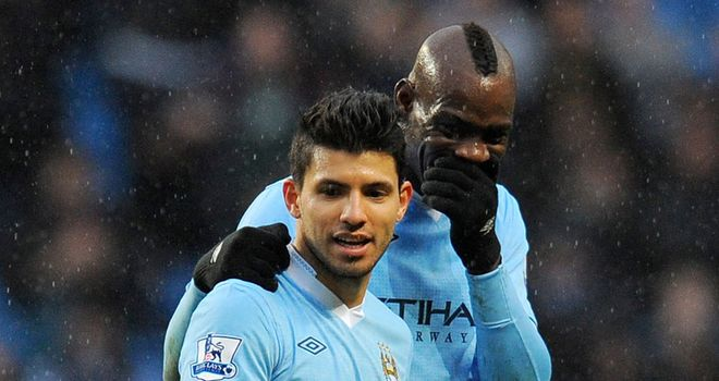 Mario Balotelli: Backed by Sergio Aguero as he faces up to Football Association charge