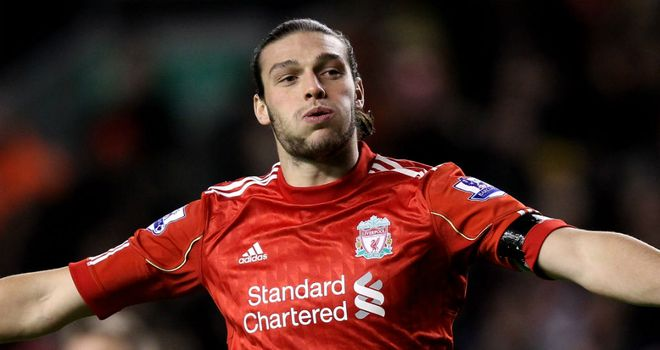 Andy Carroll: Could be sent out on loan by Liverpool this summer