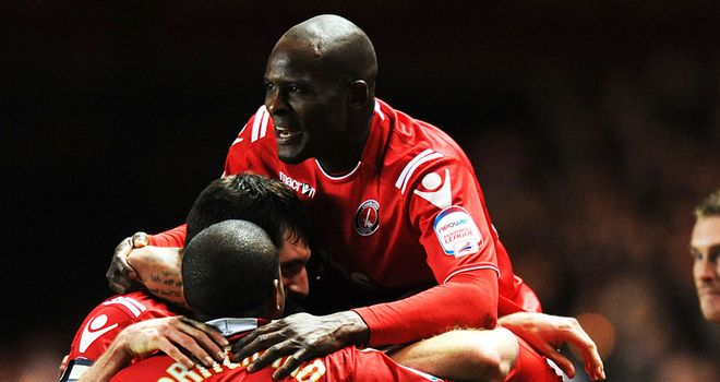 Charlton will be hoping to celebrate another three points in their push for promotion