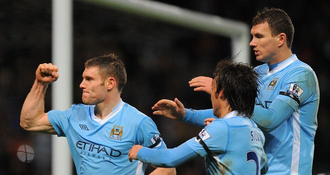 James Milner: England midfielder says there is no division within the Manchester City ranks