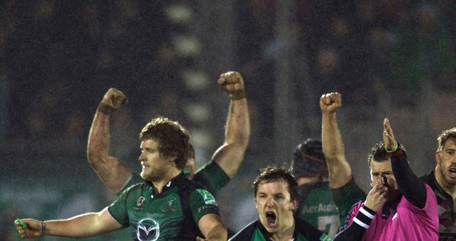 Connacht have signed Brian Murphy