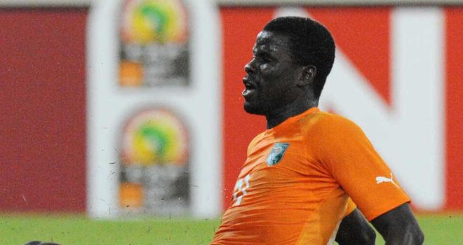 Eboue: On target