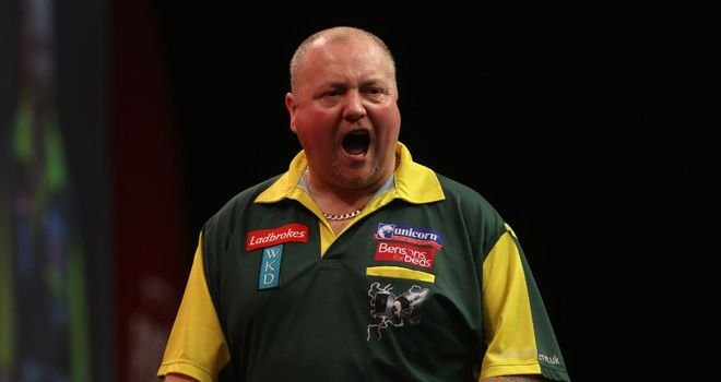 Andy Hamilton: Finished runner-up to Adrian Lewis at the PDC World Championship