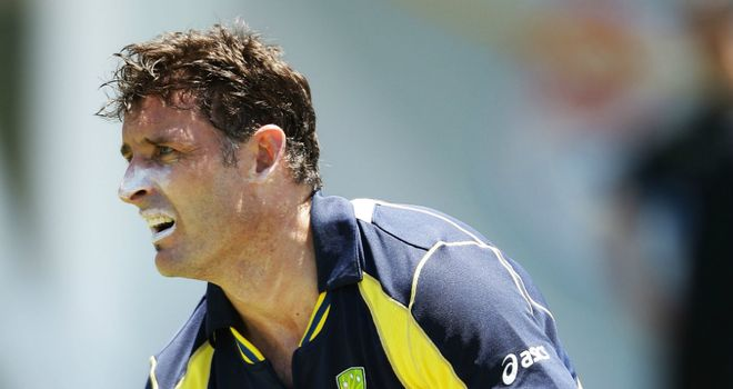 Michael Hussey: 'Mr Cricket' was training hard on New Year's Day