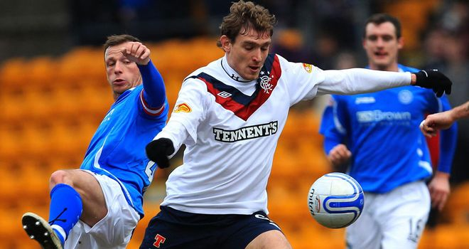 Nikica Jelavic: The Rangers striker has scored 17 times this season for the SPL side