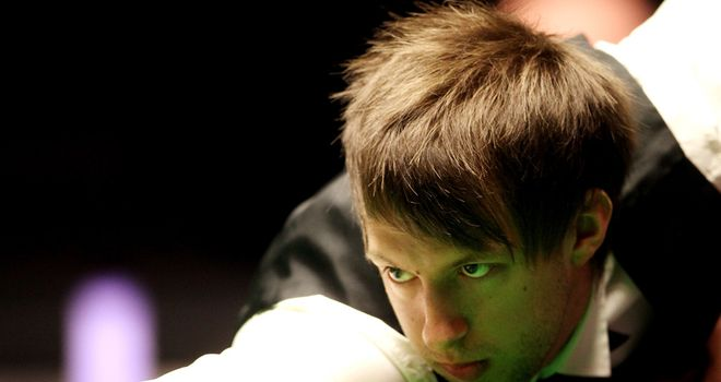 Judd Trump: won last three frames to beat Peter Ebdon