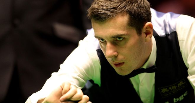 Mark Selby: one win away from regaining top spot in the world rankings