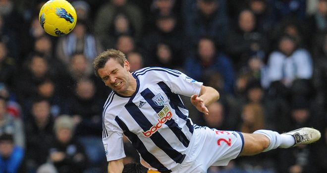 Gareth McAuley: Hoping West Brom can pick up another victory on their travels