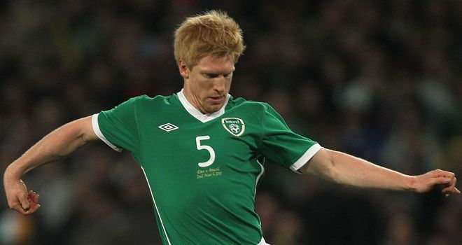 Paul McShane: Will have his condition assessed after suffering a bruised heel in training for Ireland