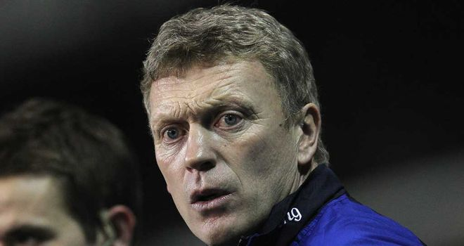 David Moyes: Amended his derby selection due to FA Cup clash