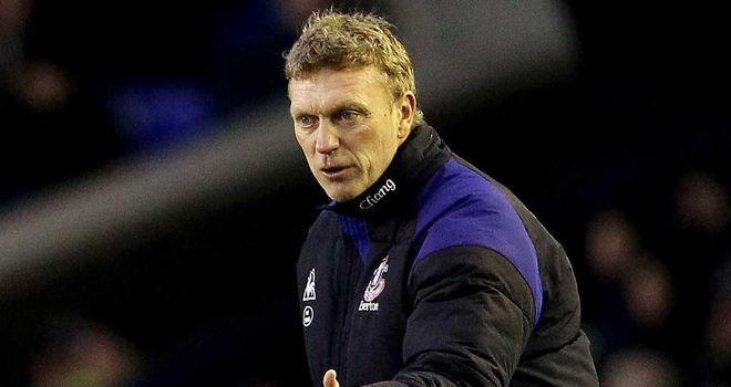 David Moyes: Everton's manager is thankful for the support of chairman Bill Kenwright