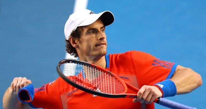 Murray: Third favourite for Australian Open