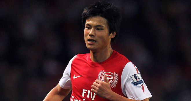 Ryo Miyaichi: Will be hoping to show some of his lightning pace at the Reebok