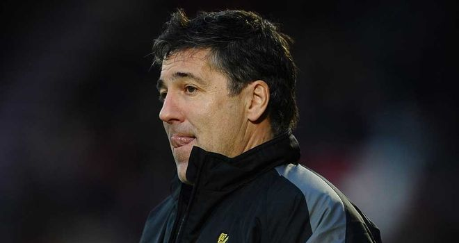 Dean Saunders: Doncaster boss saw his side end a seven-match winless run at Forest