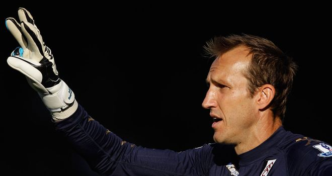 Mark Schwarzer: Has penned a new deal to keep him at Fulham until at least 2013