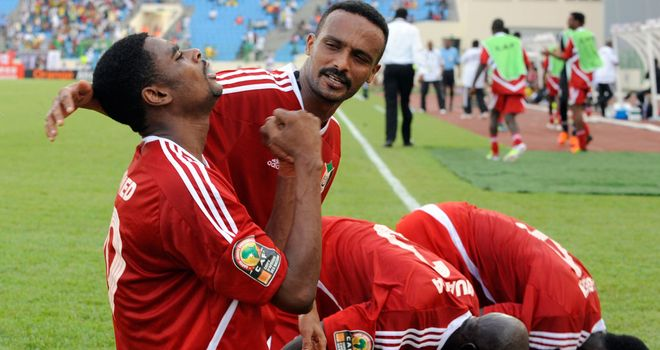 Ahmed Bashir scores for Sudan