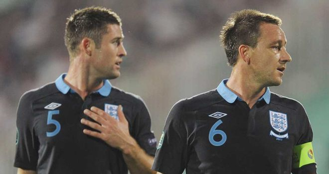 Gary Cahill: Has now partnered John Terry with Chelsea
