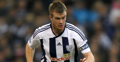 Chris Brunt: In contention for the Baggies