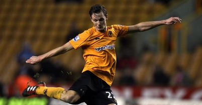 Eggert Jonsson: Midfielder has left Wolves