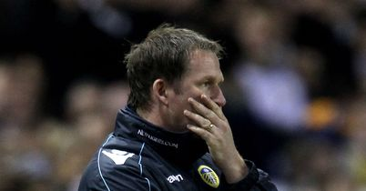 Simon Grayson: Made a tearful exit from Elland Road