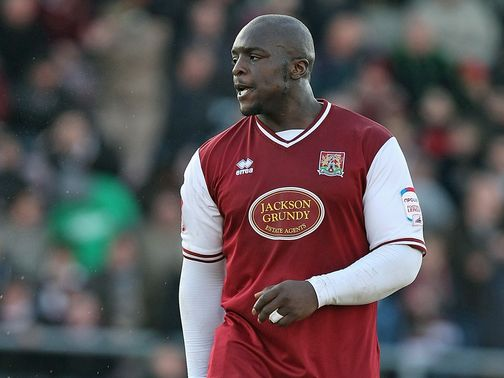 Adebayo Akinfenwa: Rescued a point for the Cobblers