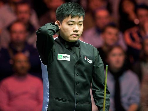 Ding Junhui: Got the better of Holt