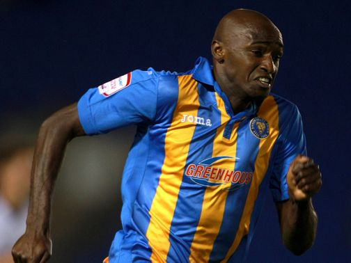 Morgan: Netted Shrewsbury's fourth goal
