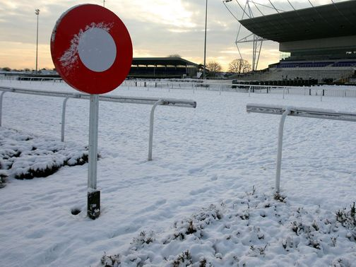 Snow: Market Rasen in doubt