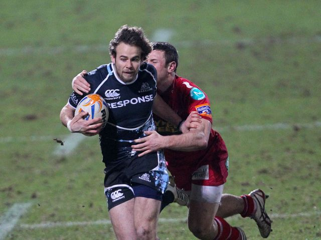 Ruaridh Jackson: recalled at stand-off for Glasgow Warriors