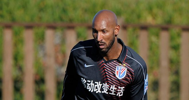Nicolas Anelka: Decided to head for China rather than return to his homeland
