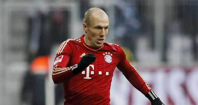 Arjen Robben: Could extend his contract at Bayern Munich