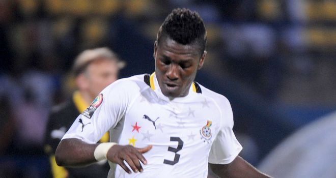Asamoah Gyan: Has attracted interest from an unnamed Qatari club