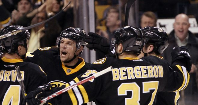 The Bruins clinched the divisional title with victory