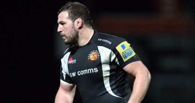 Brett Sturgess: Has committed his future to Exeter Chiefs