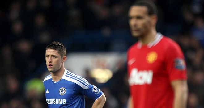 Gary Cahill: Admits he was lucky to escape punishment for challenge on Welbeck