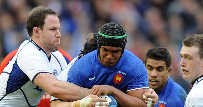 Thierry Dusautoir: set for six weeks on the sidelines