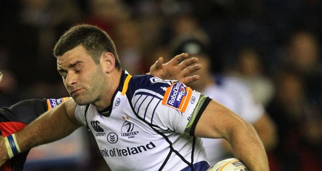 Fergus McFadden: Leinster wing scored two tries in the second half