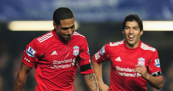 Glen Johnson: Liverpool defender has defended Luis Suarez over handshake incident
