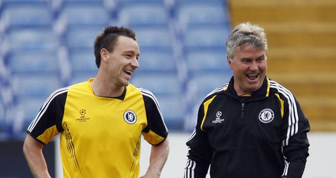 Guus Hiddink: The Dutchman developed a good relationship with the likes of John Terry in 2009