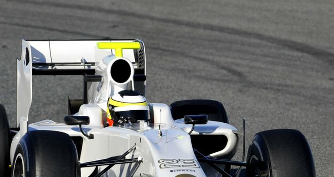 HRT: Spanish team must wait until final test to run the 2012 car