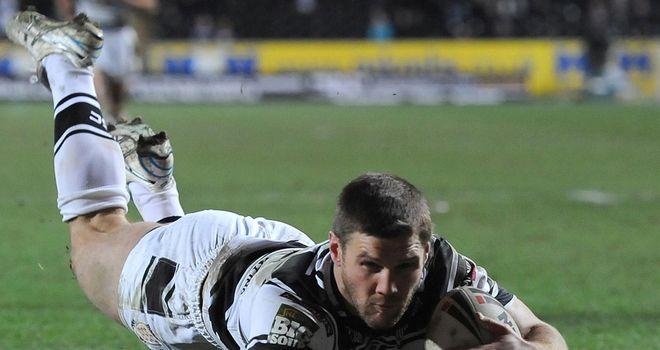 Kirk Yeaman: On the scoresheet for Hull