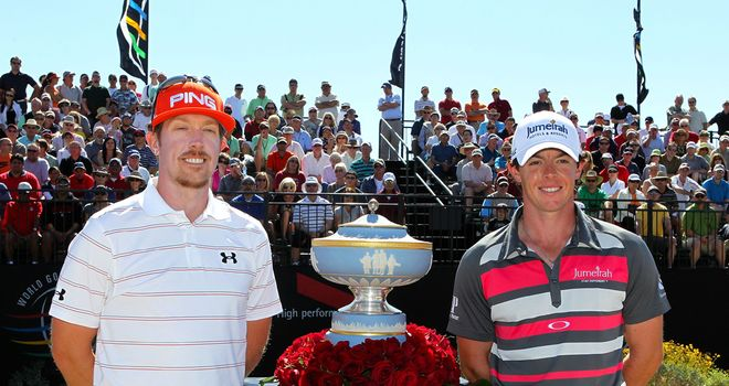 Hunter Mahan: Took the lead at the sixth hole and never gave it up