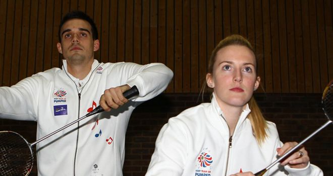 Chris Adcock and Imogen Bankier: Edging closer to London 2012 qualification