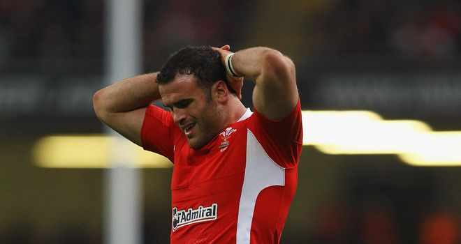 Another injury blow: Jamie Roberts