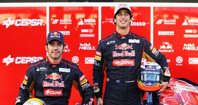 Red Bull have high hopes for Vergne and Ricciardo